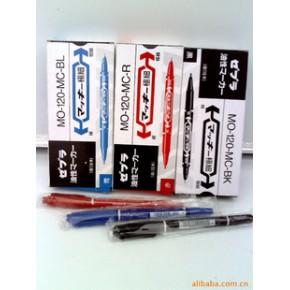 伟义文具供应 勾线笔小双头 记号笔 专用墨水