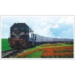 中亚铁路运输
