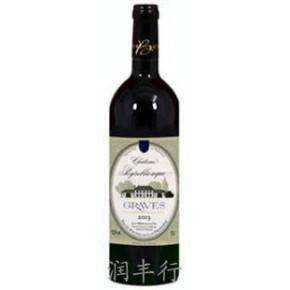 优质贝布朗城堡干红葡萄酒(法国区域级AOC)