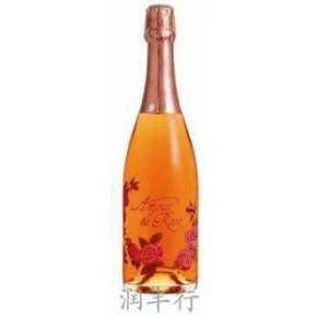 优质玫瑰恋情桃红(香摈)起泡葡萄酒