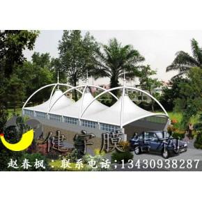 广东膜结构公司,东莞地下车库入口膜结构雨棚