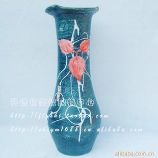 【景德镇树叶创意雕刻花瓶10