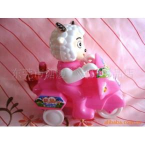 批发供应零售特价喜洋洋三轮车玩具糖果