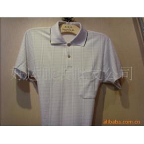 男士翻领条纹T恤,卖场,集市,地摊9.9元