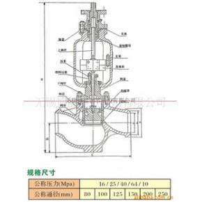 YT968Y型锅炉蒸汽流量压力调节阀系列供应