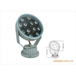 12W高亮度LED大功率投光灯