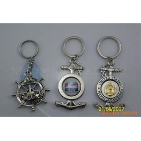 情侣钥匙扣 钥匙挂件 金属