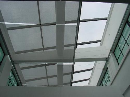 西南民航空管公司机场塔台遮阳膜卷帘工程
