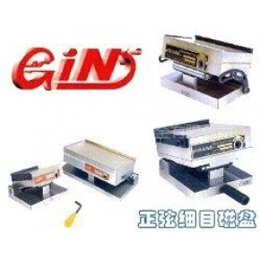 精展GIN鹰牌微调式一体超薄正弦磁台永磁细目磁盘 磨床磁