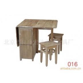 餐桌 实木 可以 宏达木制