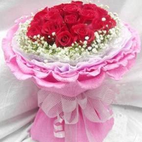 永州鲜花店鲜花19支红玫瑰冷水滩鲜花速递