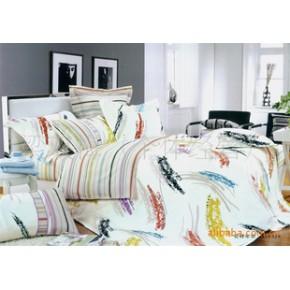 床上用品套件仿活性印花全棉四件套厂家直销可定做