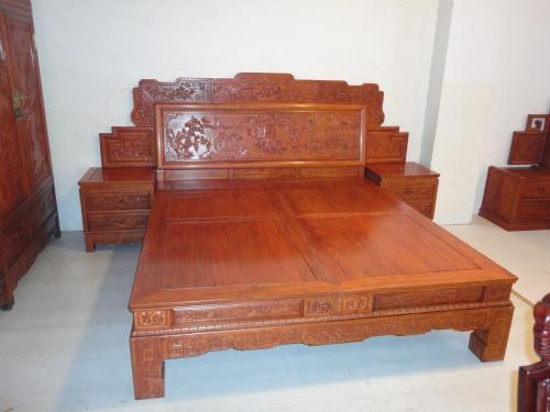 顺企网 产品供应 家居日用品 家具 床 实木床 03 百子大床   供应商