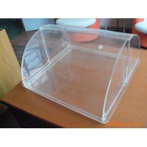亚克力面包盒 有机玻璃展示架