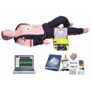 电脑高级心肺复苏、AED除颤仪模拟人(计算机控制,二合一)