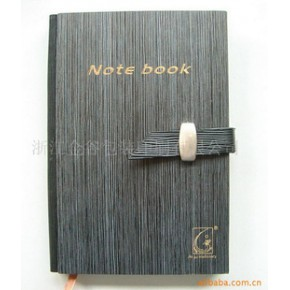 精美的灰色木板制作封面的笔记本