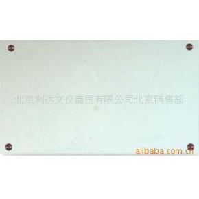 玻璃白板 铝合金 单面 金属