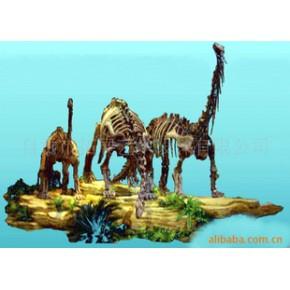 骨架恐龙 雕塑 合成树脂