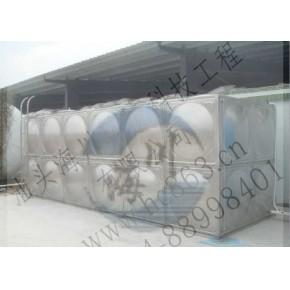 汕头环保公司/24吨不锈钢组合水箱