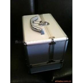 化妆箱,双开化妆箱,铝合金化妆箱,亚克力化妆箱