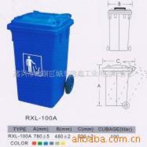 嘉兴垃圾桶,有轮垃圾桶,100升垃圾桶