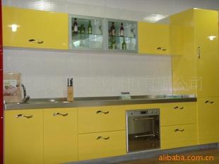 不锈钢台面系列整体橱柜 整体厨房