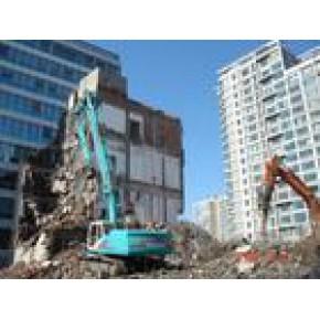 甘肃国英承接兰州房屋拆除筑路工程施工土石方挖掘工程