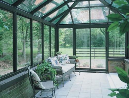 大连玻璃阳光房/大连别墅阳光房/大连钢结构阳光房