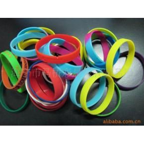 生产加工各种硅橡胶手环手镯,印刷字 凹凸字等