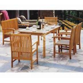 泉州铁木长椅  首选欧德户外家具供应各式齐全的户外长椅