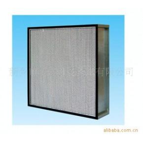 传统有隔板高效空气过滤器,有隔板过滤器