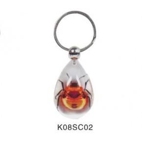 山东琥珀工艺品钥匙扣,价格实惠