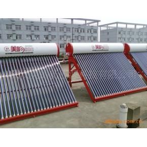 招待所工厂宿舍太阳能热水器单机串并联中央热水系统、空气源热泵
