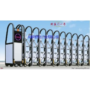 免费安装供应四川电动伸缩门成都电动伸缩门岗亭