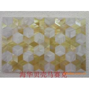 贝壳马赛克装饰材料,墙砖,各种贝壳拼图()