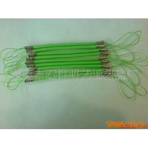 专业生产PU弹簧挂绳 PU弹簧吊绳