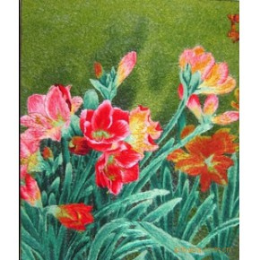 电脑绣花类工艺品(油画类)
