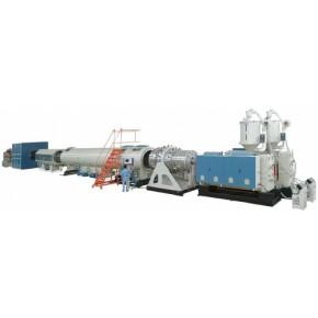 金纬HDPE供水管、燃气管挤出生产线