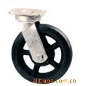 橡胶轮 8寸 8X2 铁芯橡胶
