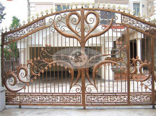 茂名市别墅门价格 茂名市欧式别墅门  如果[茂名纯铝铸造别墅庭院门