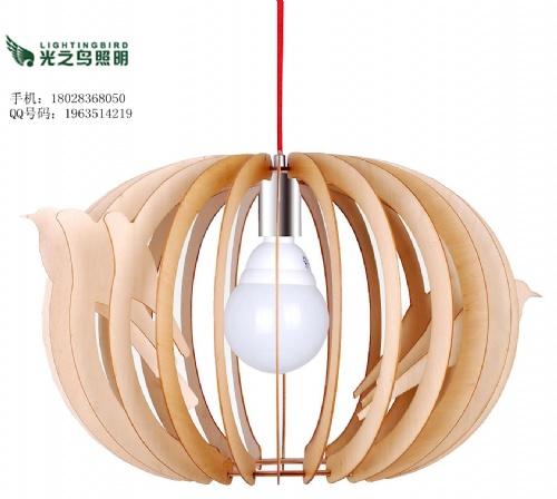 其他专门用途灯具 木艺吊灯