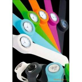 时尚硅胶手表/硅胶啪啪手表/礼品表