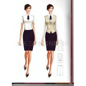 优质时尚制服  邮政电信营业员服装