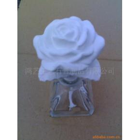 香水瓶可吸香(变色)石膏花朵