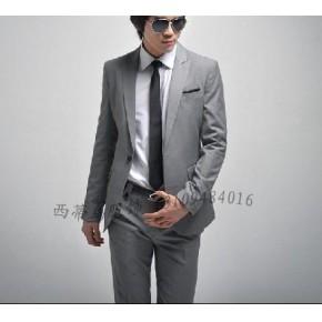 甘肃瘦版西服西装,商务男装,工作服订做,兰州西蒂鸟公司