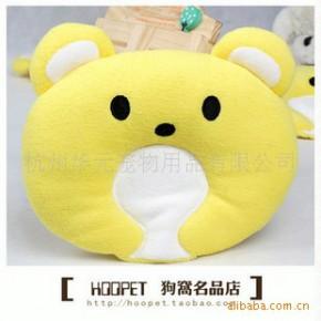 批发供应宠物用品 黄色小熊宠物宝贝定型枕 玩具