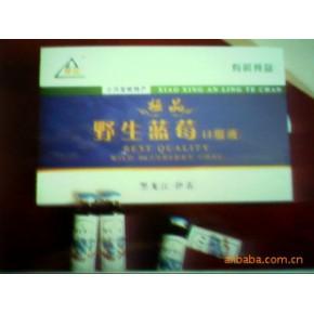 伊春市龙江山特产品野生蓝莓口服液