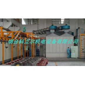 中型机械喷涂线