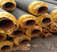 预制式聚氨酯直埋保温管 聚氨酯发泡保温钢管出厂价格