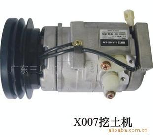 【10s15c小松下挖机汽车空调压缩机